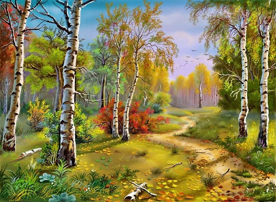 Русский лес купить в интернет-магазине ColorNumbers.ru