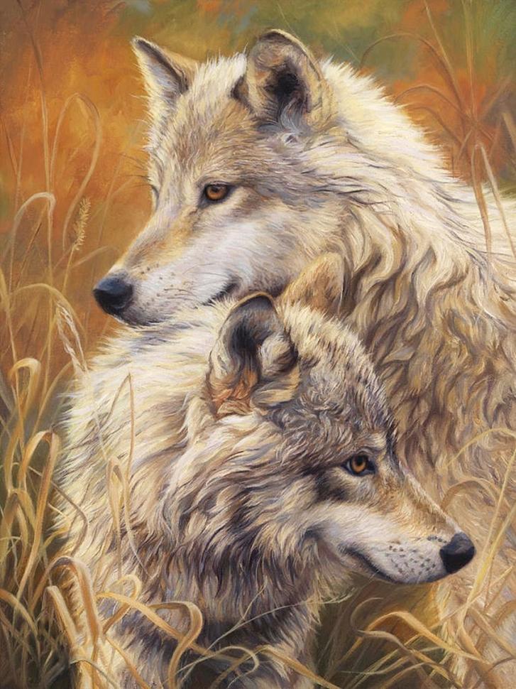 делать картинки преданности волков завершения